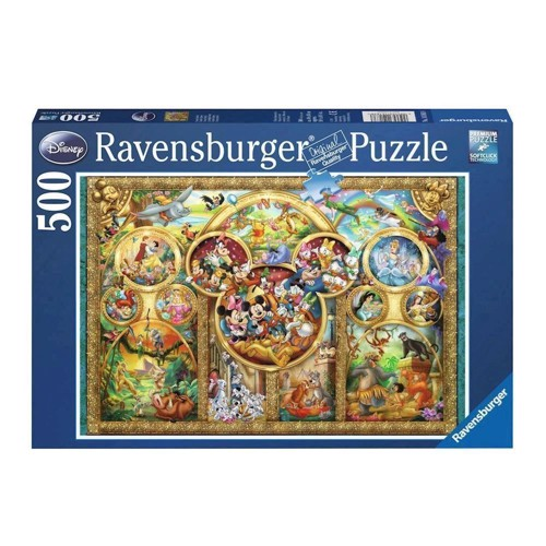 Image of Ravensburger puslespil Disney family, 500st.