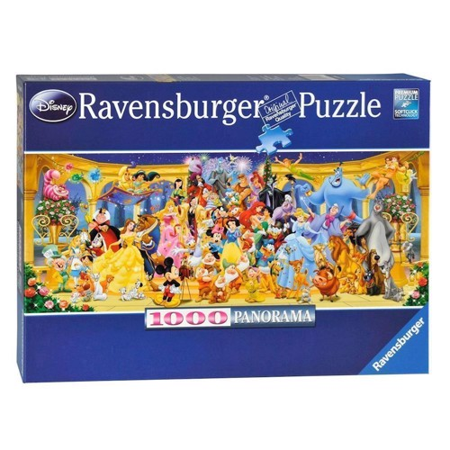 Image of Ravensburger puslespil Disney family photo, 1000pcs.
