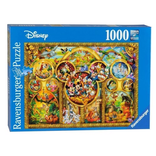 Image of Ravensburger puslespil Most beautiful Disney themes, 1000pcs.