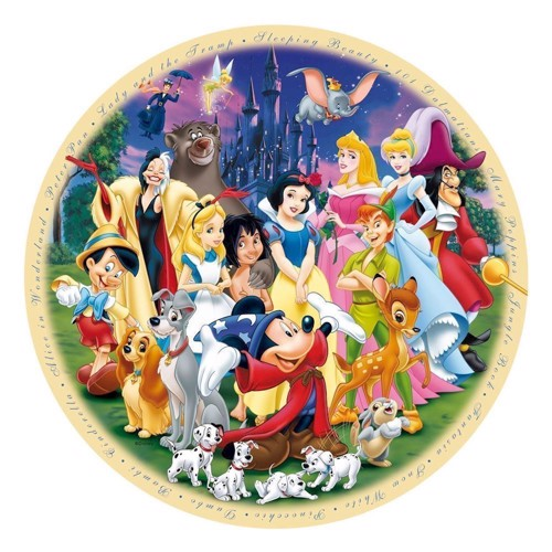 Image of Ravensburger puslespil Wonderful World of Disney 1, 1000pcs.