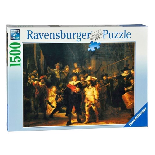 Image of Ravensburger puslespil The night watch, 1500st.