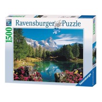 Ravensburger puslespil Mountain Lake at Matterhorn, 1500st.