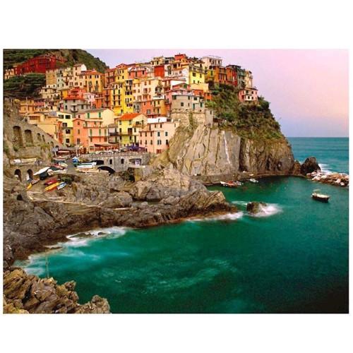 Image of Ravensburger puslespil Cinque Terre, 2000st.