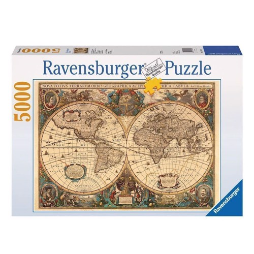 Ravensburger puslespil Ancient world map, 5000st.