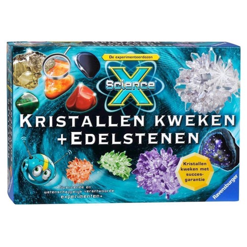 Image of   Ravensburger Grow ScienceX Crystals And Gemstones