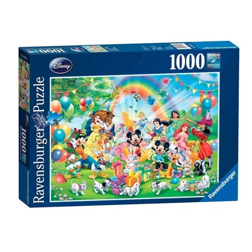 Image of Ravensburger puslespil Mickeys birthday, 1000pcs.