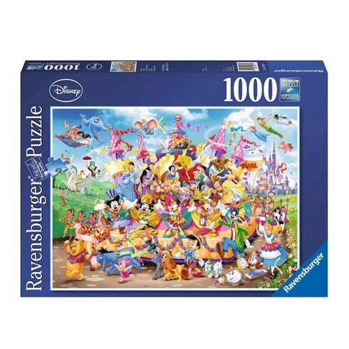 Image of Disney parade puslespil med 1000 brikker (4005556193837)