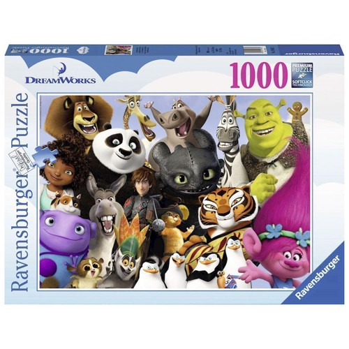 Image of   Dreamworks Family, 1000st.