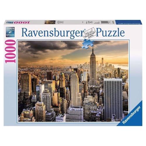Ravensburger puslespil Grand New York, 1000st.