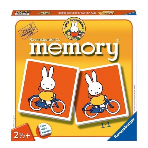 Image of Ravensburger Miffy XL Memory (4005556212217)