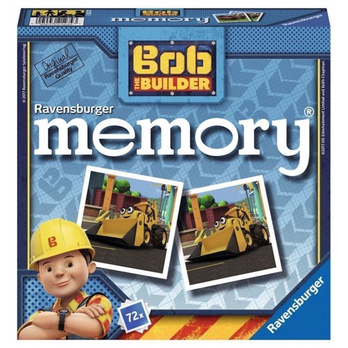 Image of Ravensburger Bob the Builder Memory (4005556212743)