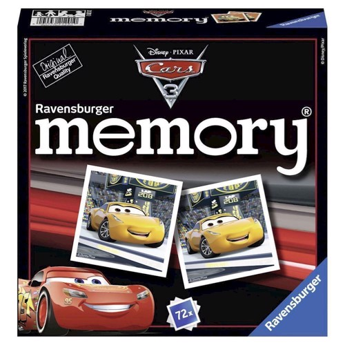 Image of   Disney Cars 3 Memory