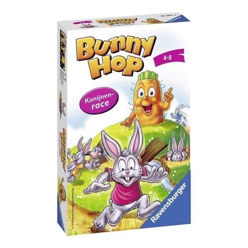 Image of   Ravensburger Bunny Hop Rabbits race