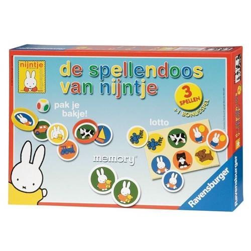 Ravensburger Miffy Games Box