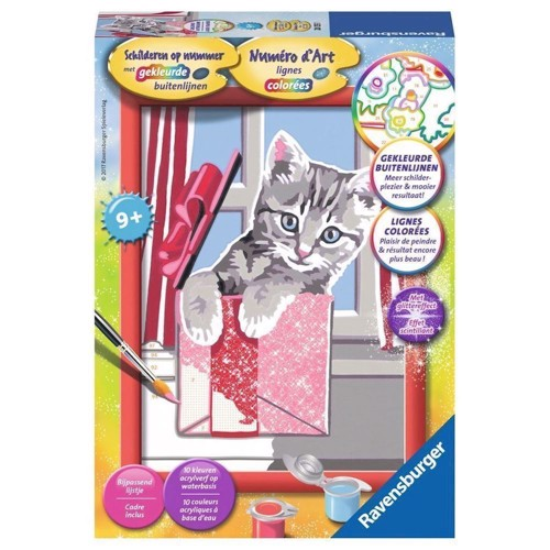 Ravensburger Painting by number - Cute Gift