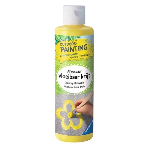 Image of   Ravensburger Bottle Outdoor paint - yellow