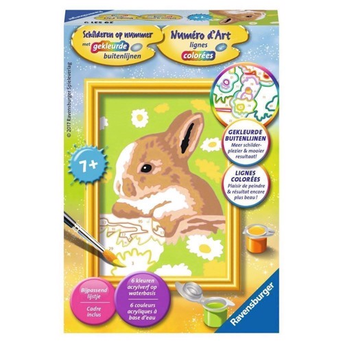 Image of Ravensburger Painting by numbers-rabbit Felicity (4005556295319)