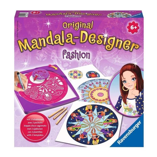 Image of   Ravensburger 2 in 1 Mandala-Designer-Fashion