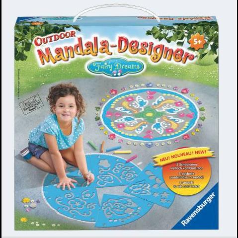 Ravensburger Mandala Designer Fairy Dreams udendørs designer