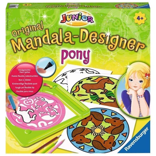 Image of   Ravensburger Junior Mandala-Designer - Pony