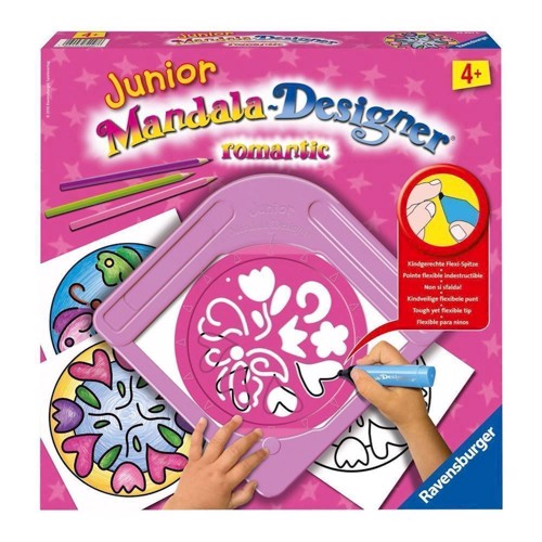 Image of   Ravensburger Junior Mandala-Designer-Romantic