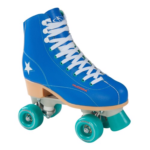 Image of   Hudora Disco rulleskøjter skates blue/Mint green, size 35
