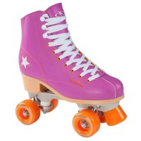 Hudora Disco rulleskøjter purple/Orange, size 35
