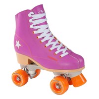 Hudora Disco rulleskøjter purple/Orange, size 36