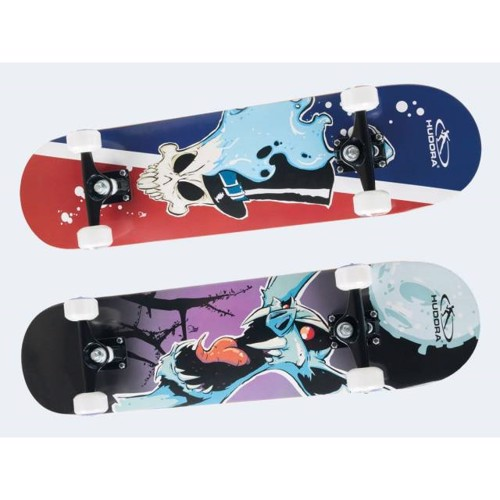 Image of   Hudora Skateboard 78cm ABEC7 PU hjul Antiskid Tape