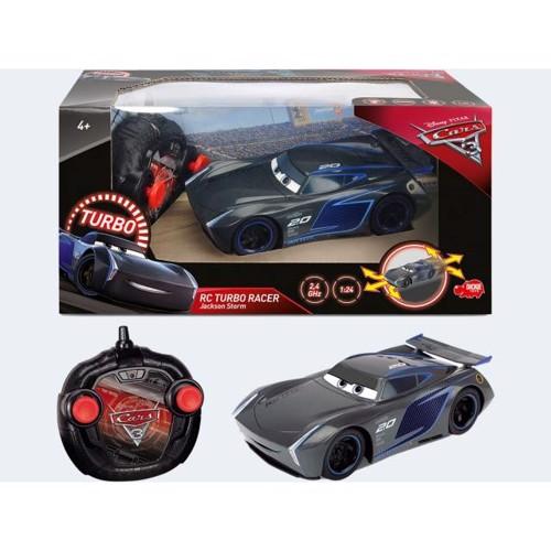 Image of   Fjernstyret bil, Cars 3 Jackson Storm Turbo Racer