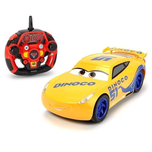 Image of   Dickie, fjernstyret bil, Cars 3 Deluxe Edition, Dinoco Cruz