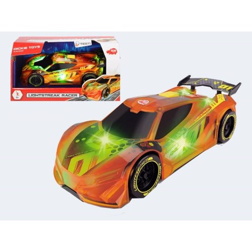 Image of   Racerbil 20cm med lys og lyd