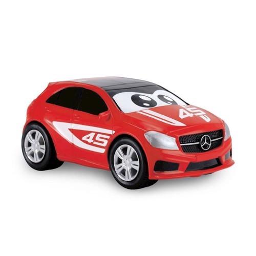 Image of Mercedes A-class bil med øjne 11cm (4006333041891)