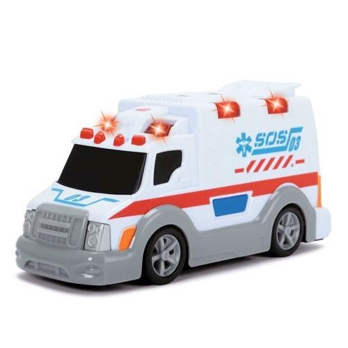 Image of Ambulance 15cm med lys og lyd