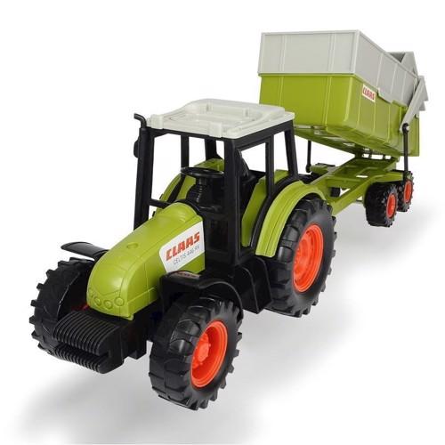 Image of   Claas Traktor med trailer