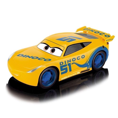 Image of   RC Cars 3 Turbo Racer Cruz Ramirez, Fjernstyret Bil