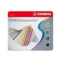 Stabilo Aquacolor metal box, finished 24th.