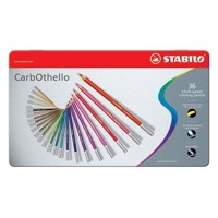 STABILO CarbOthello metal case, 264 mm 36pc.