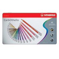 STABILO CarbOthello metal case, 48st.