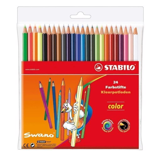 Image of Stabilo Color-24 colors (4006381488044)