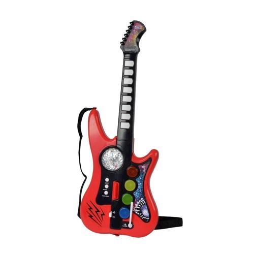 Image of   Music World Disco Guitar med 10 lydefekter