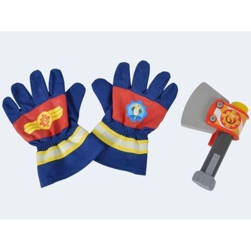 Image of Brandmand sam handsker med økse