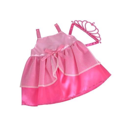 Dukketøj, New Born Baby, dukke prinsesse tøj