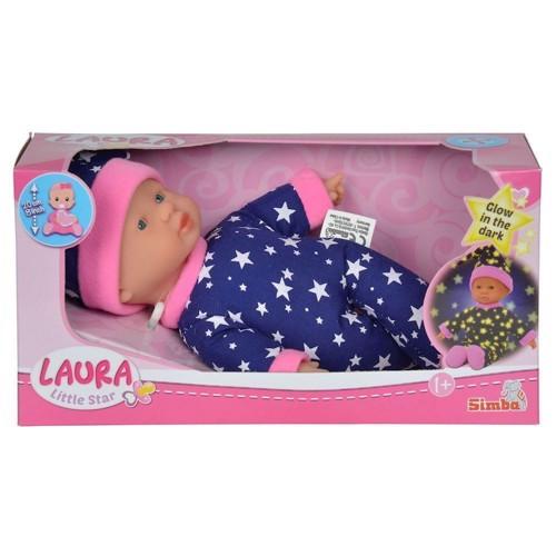 Image of   Baby Laura, dukke, lyser i mørket