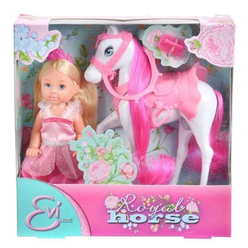 Image of   EVI Love, dukke med hest