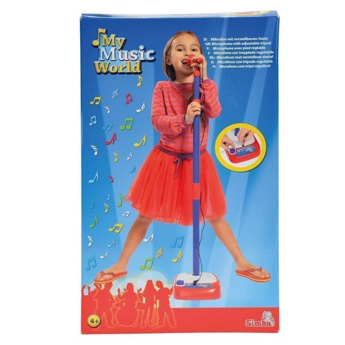 Image of   My Music World, mikrofon med holder