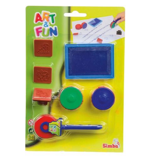 Image of   Art &Fun, stempel ruller