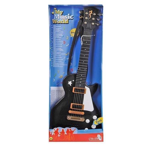 Image of Rock Guitar, Rød