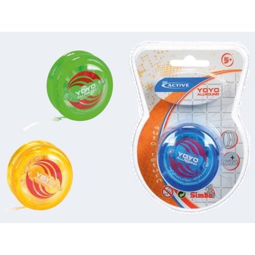 Image of   Be Active Yo-Yo 6cm med ekstra snor