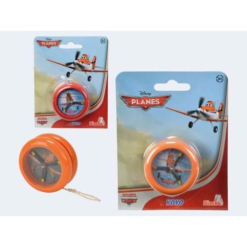 Image of   Flyvemaskiner, Yo-Yo med propeller 6cm